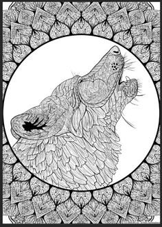 Indian Headdress Coloring Page - Bing Images | Adult ...