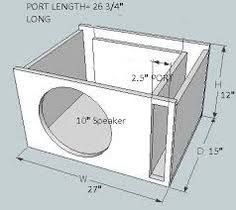 Image Result For Subwoofer Box Design For 12 Inch Subwoofer Box Design Subwoofer Box Diy Subwoofer