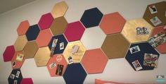 Hexagon Cork board! HGTV handmade.