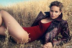 Jennifer Lawrence For Vogue Magazine , Sep/2011