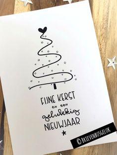 Fijne kerst en een gelukkig nieuwjaar | Kerst | Brievenbusgeluk