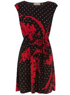Blank spot slinky dress, Dorothy Perkins
