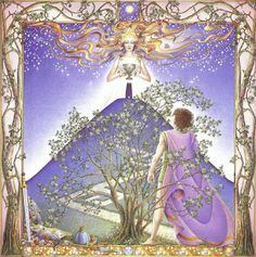 In Celtic astrology, the zodiac is based on the trees that the Druids held sacred. It was believed that the trees themselves expressed personal characteristics that could then be associated with particular months of the year. Celtic Tree, Irish Celtic, Celtic Astrology, Glastonbury Tor, Tres Belle Photo, Holly Tree, Oak Tree, Book Of Shadows, Months In A Year