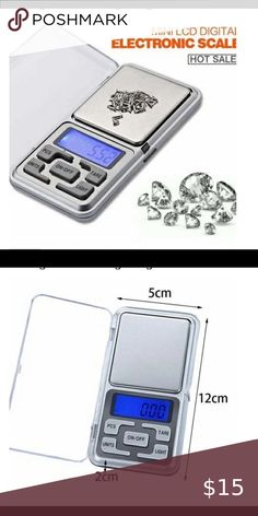 Electronic Scale, Pocket Scale, Digital Scale, Packaging, Store, Mini, Places, Closet, Armoire