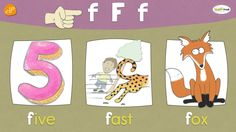 The F Chant   Phonics and Vocabulary   Think Read Write   ELF Learning