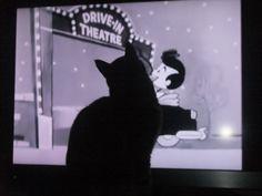 Enjoying the movie.