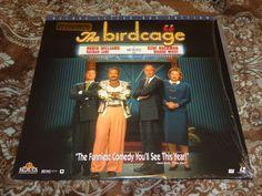 The Birdcage (LaserDisc, 1996, CLV) OOP Widescreen Robin Williams/Gay in Shrink!