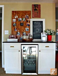 DIY Beverage Station - The Home Depot: The Apron Blog