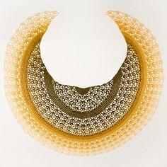 Byzantium Shawl is a topdown half-circle shaped shawl.