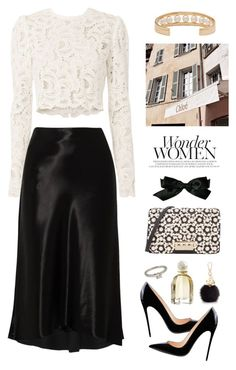 """""""Wonder women"""" by miee0105 ❤ liked on Polyvore featuring A.L.C., Cartier, TIBI, ZAC Zac Posen, Chloé, Furla, Chanel and Balenciaga"""