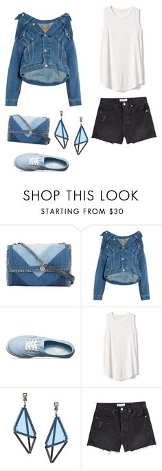 """""""majestic work 9"""" by minee1997 ❤ liked on Polyvore featuring STELLA McCARTNEY, Balenciaga, Vans, Gap, Issey Miyake and Frame"""