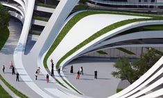 Beko Masterplan Proposal #Zaha Hadid Architects