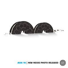 August 16 - New Nessie Photo Released (Oreo 100 Aniversary) Twist And Shout, Poster Ads, Oreo Cookies, Advertising Campaign, Cute Food, Print Ads, My Favorite Things, Creative, Ad Campaigns