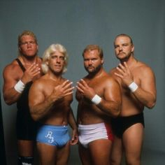 The Four Horsemen Members Nwa Wrestling, World Championship Wrestling, Wrestling Stars, Wrestling Superstars, Barry Windham, Ric Flair, Professional Wrestling, Ufc, Cool Pictures