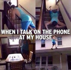 When You're Talking On Your Phone