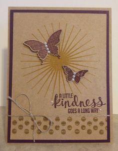 Catherine Loves Stamps: Kinda Eclectic & Kraft-y !