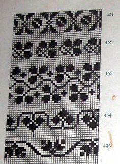 Lapas - Rokdarbu grāmatas un dažādas shēmas - Galerija - Cimdu raksti - draugiem. Beaded Cross Stitch, Cross Stitch Borders, Cross Stitching, Cross Stitch Embroidery, Embroidery Patterns, Cross Stitch Patterns, Knitting Charts, Knitting Stitches, Knitting Patterns