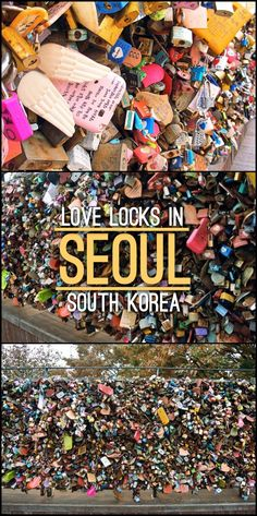 Are you travelling to Seoul, South Korea as a couple or as a solo traveller? make sure you visit the love locks at N Seoul Tower. These memoirs of love tell an incredible story and a great way to show your affection.