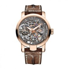 Armin Strom: Tourbillon Tourbillon Skeleton Fire