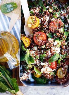 Quinoa med kylling og tomat