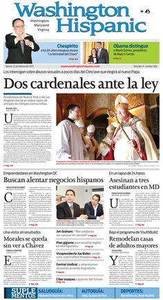 Edición impresa del 22 de febrero de 2013. http://www.washingtonhispanic.com/index.php?mod=historico=276