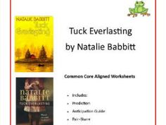 writing your tuck everlasting book report