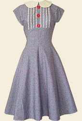 Diner Dress - Reproduction Clothing - Electric Gypsy - Vintage clothing and vintage inspired handmade clothes Vintage Outfits, Vintage Fashion, Vintage Clothing, 1999 Fashion, Pin Up Kleidung, Pin Up Outfits, Dapper Day, Vintage Mode