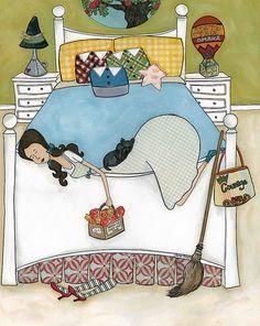 inbed.quenalbertini: Dorothy's Room of Oz | Jamie Morath