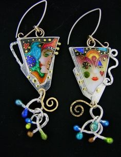 excellent enamel work. From Painting with Fire Website.