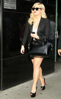 Demi Lovato looking business-chic from The Big Picture: Today's Hot Pics! | E! Online