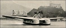 Savoia Marchetti S55X flying boat