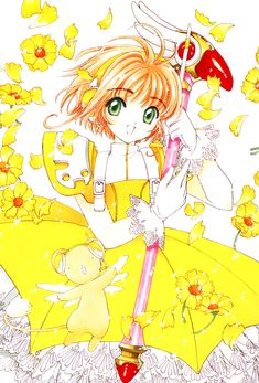 Cosplay : Sakura in Umbrella Costume from Card Captor Sakura Cardcaptor Sakura, Sakura Card Captor, Syaoran, Sakura Sakura, Yandere, Manga Anime, Clow Reed, Clear Card, Magical Girl