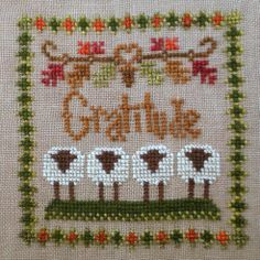 Gratitude (Little Sheep Virtues) handspun wool thread pack - why not stitch your litlte sheep with wool? :)