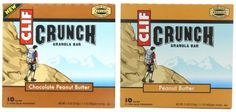 10+Count+CLIF+CRUNCH+Granola+Bars+Peanut+Butter+or+Peanut+Butter+Chocolate+Only+$2.40