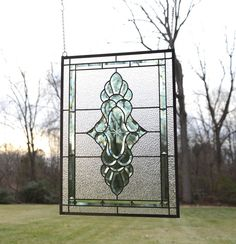 This is an elegant designed panel in vivid stunning colors, it would be an enhancement to any window or sun porch, or bay window. copper frame. using zinc came method. Came works better in windows with lots of longer, straight lines, Came is best suited for crisp hardline work. | eBay!