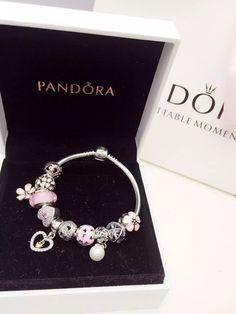 Pandora Sterling Silver Charm Bracelet CB01315