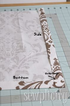 Quick & Easy Lined Valance - Sewplicity