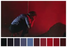 Goodfellas Martin Scorsese) / Cinematography by Michael Ballhaus Movie Color Palette, Red Colour Palette, Color Palettes, Famous Movie Scenes, Cinema Colours, Color In Film, Movie Screenshots, Color Script, Mood And Tone
