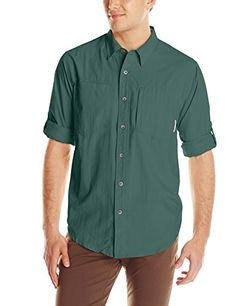 ExOfficio Mens GeoTrekr Long Sleeve Shirt *** Find out more about the great product at the image link. (This is an Amazon affiliate link)