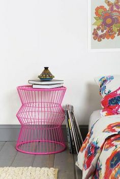 Wire accent table from Urban Outfitters