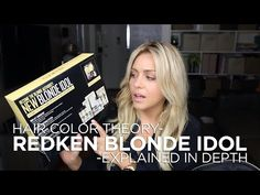 All About the New Blonde Idol Color Line by RedKen - How to use and When - YouTube