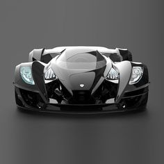 """SUPERCAR  """"Sigma is a supercar built with extra emphasis on radical styling. The glass canopy allows great track visibility, and can also be removed to enjoy open-cockpit motoring."""" via Gray Designs Zeus"""
