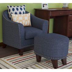 Red Barrel Studio® Alchemist Barrel Chair and Ottoman