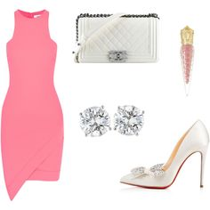Untitled #466 by cxndai on Polyvore featuring moda, Elizabeth and James, Christian Louboutin and Chanel