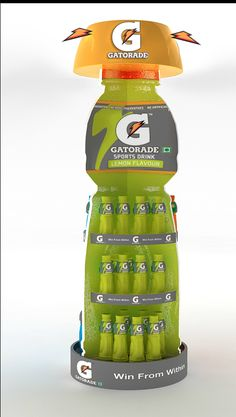 Very effective #Display. #Gatorade. We can build something similar. TriadCreativeGroup.com