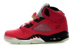 Air Jordan 5 Shoes Glow In The Dark Raging Bull Red cheap nike shoes Nike Air Max Sale, Nike Air Jordan 5, Air Jordan Shoes, Nike Shox Shoes, Nike Shoes Cheap, Sneakers Nike, Black Jordans, Air Jordans, Red Shoes