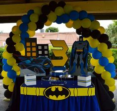 Batman Party Theme Batman party Batman and Birthdays