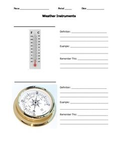 worksheets weather instruments weather worksheets pdf recipes to cook weather science. Black Bedroom Furniture Sets. Home Design Ideas