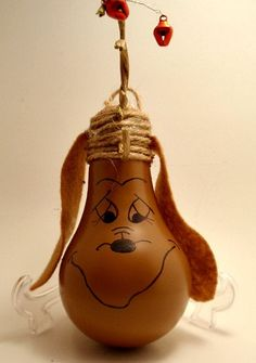 Max the grinch's dog Lightbulb Ornament