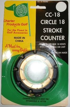 Circle 18 Golf Stroke Counter Keep Score For 18 Holes by Charter. $3.99. Circle 18 Golf Stroke Counter Keep Score For 18 Holes